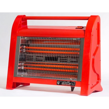 بخاری برقی چهار شعله ماد الکتریک مدل رویال فن دار