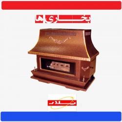 بخاری گازی پلار طرح شومینه مدل 329