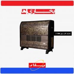 بخاری پلار مدل گاز سوز دودکش دار POLAR | I-TAK | 12000