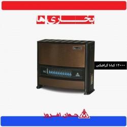 بخاری جهان افروز 12000مدل کیانا گرافیکی JAH 120-GH