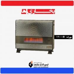بخاری گازی ایمن گاز مشهد بوران 12000B