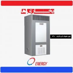 کوره هوای گرم انرژی مدل 760 گازی