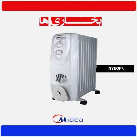 رادیاتور برقی میدیا مدل NYEQF9