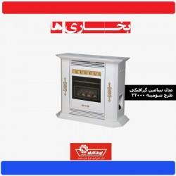 بخاری ایران شرق 22000 طرح شومینه بنیامین گرافیکی