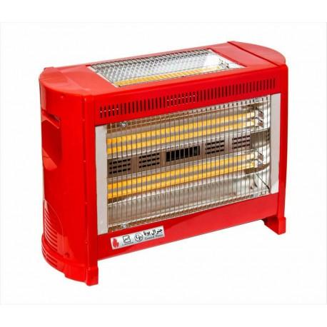 بخاری برقی جنرال پویا 6 شعله فن دار کم مصرف